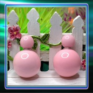 Light Pink Candy Double Stud Earrings